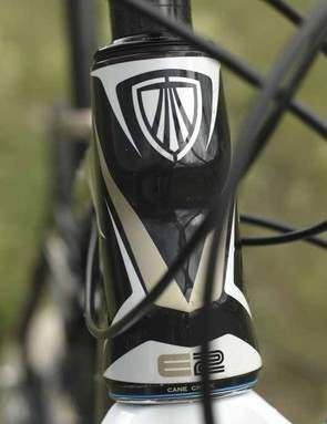 E2 head tube adds rigidity for frame and fork