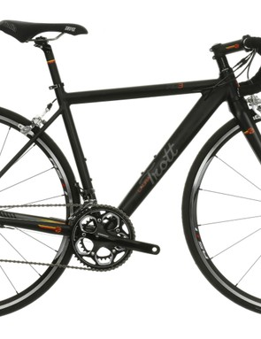 The top-line RD3 sports a full Shimano 105 group