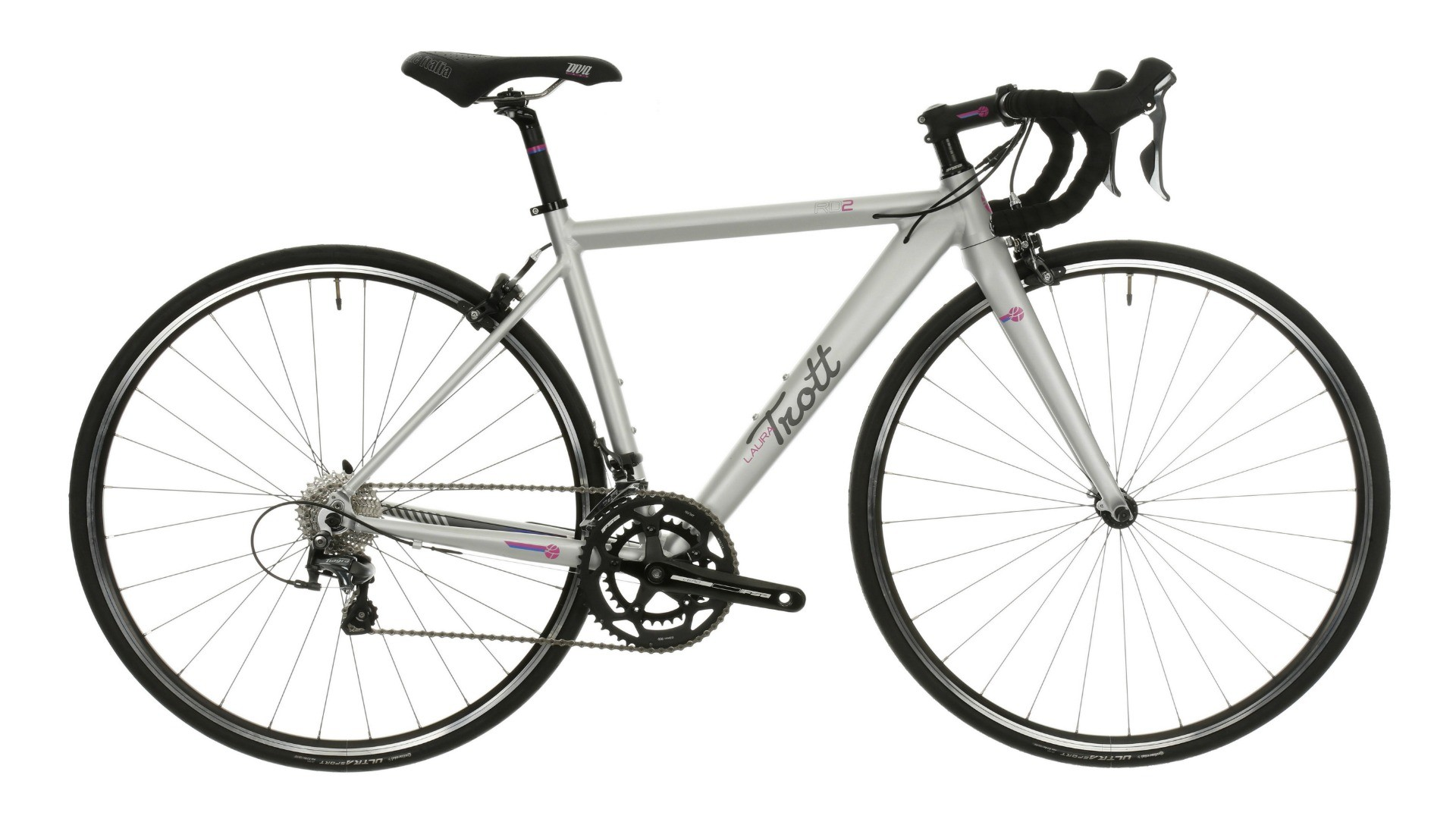 Smaller riders will welcome the RD2's 45cm frame option