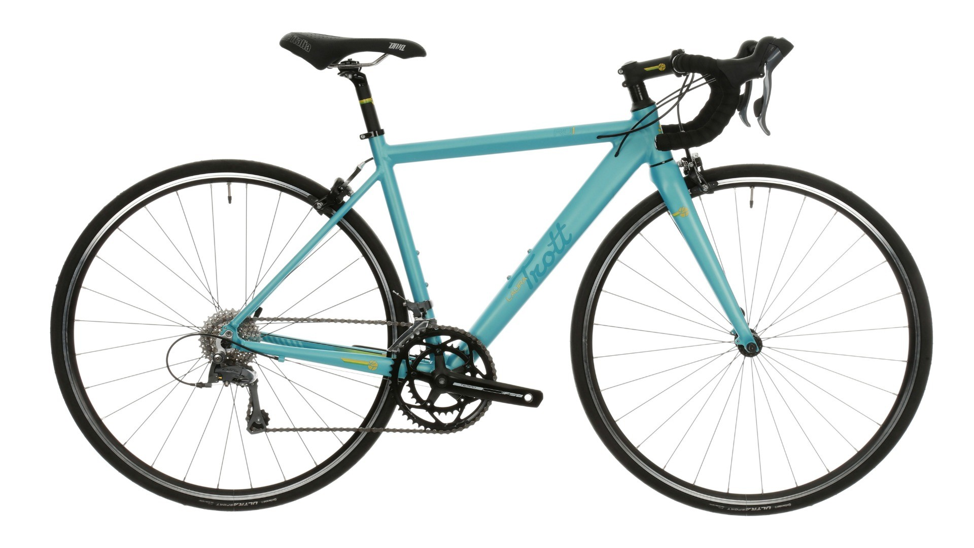 There are three road bikes in the range –this is the entry-level RD1