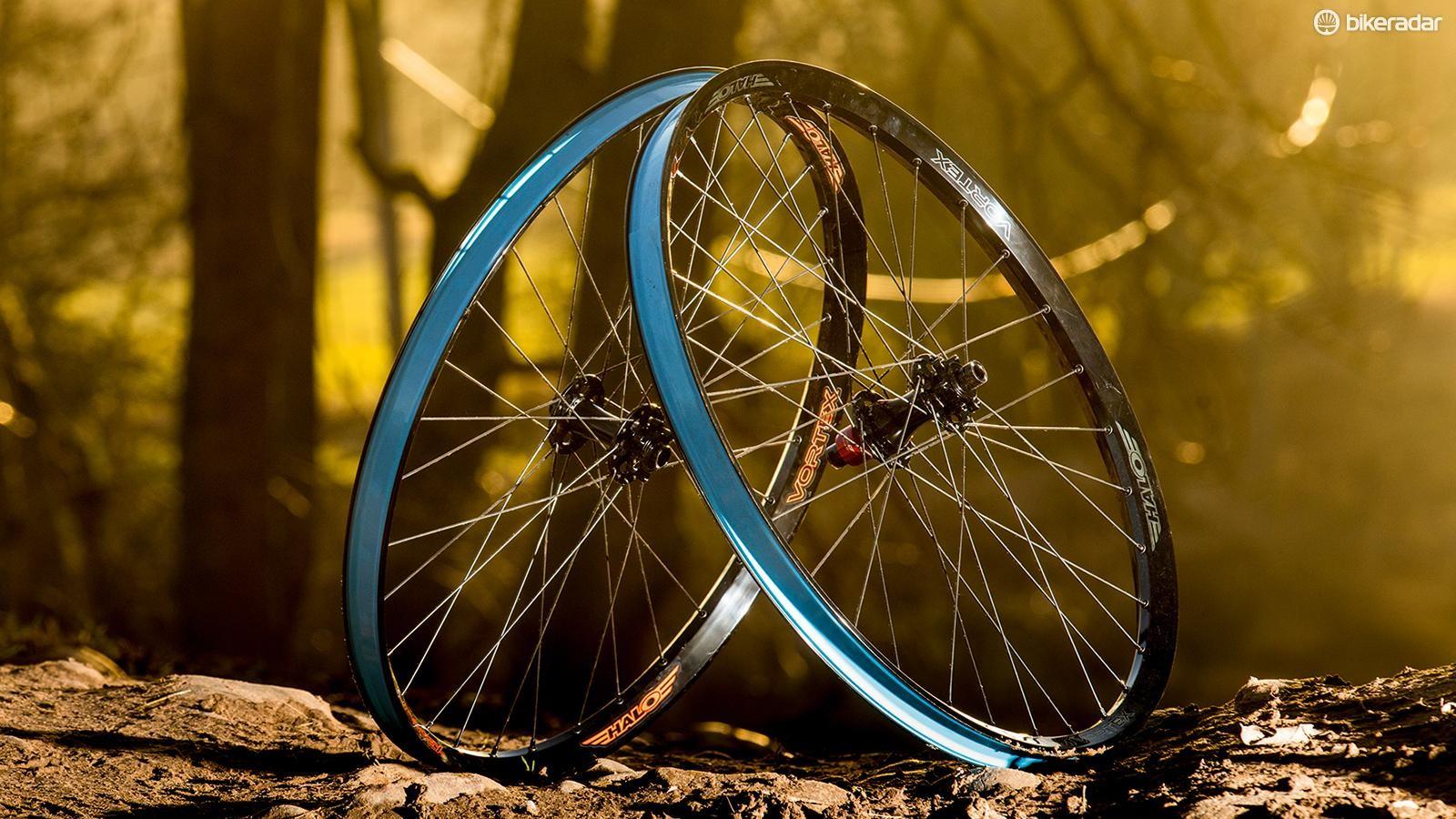 Halo's Vortex 650b wheelset