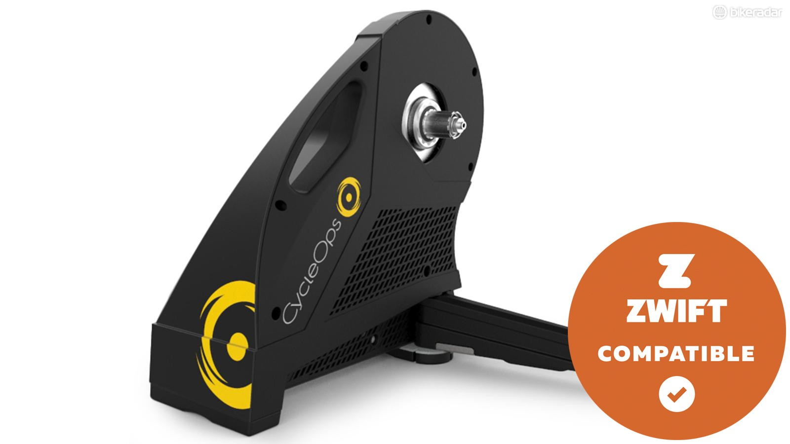 The new CycleOps Hammer direct-drive smart trainer
