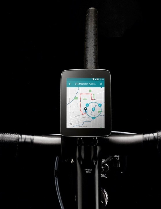 If the claimed 10-hour battery life with color navigation proves true, the Karoo will definitely be well ahead of the Garmin Edge computer