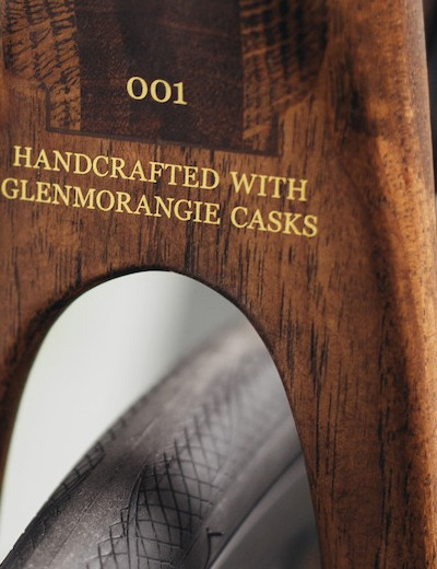 The barrel casks are made from American White Oak
