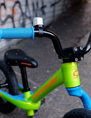 The burly BMX-style stem will survive even the rowdiest of hucks