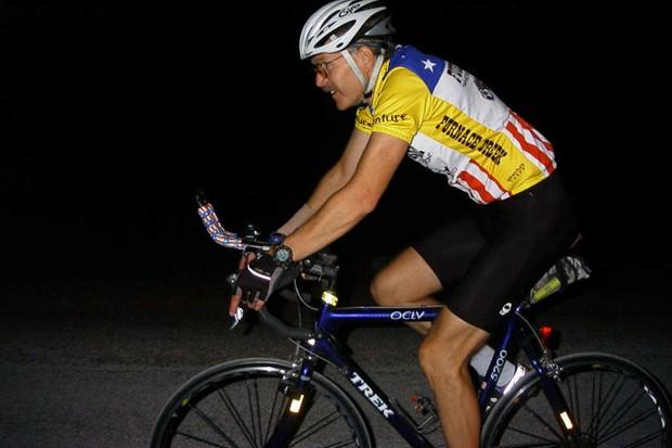 Bill Hanf racing the 2007 Furnace Creek 508.