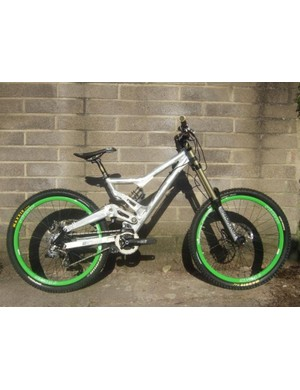 Astrix Europe's downhill team will ride an updated version of the Havoc which has been specially developed for UK conditions