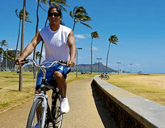 Hawaiian cyclists could get more of this.