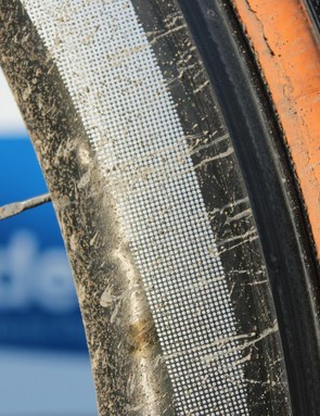 Shimano C-50 tubulars are stock race gear for most flat races without cobblestones
