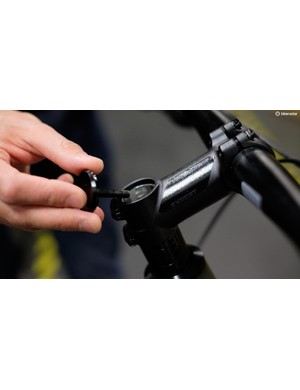 On carbon bikes there is usually an expanding wedge in place of a star nut. You don't need to remove this