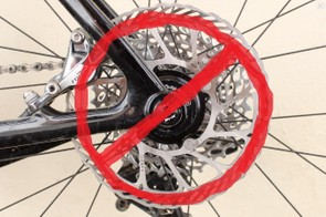 You don't want disc brakes? OK, THAT'S FINE.