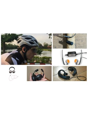 Let's be safe and courteous out there, headphones and riding don't mix