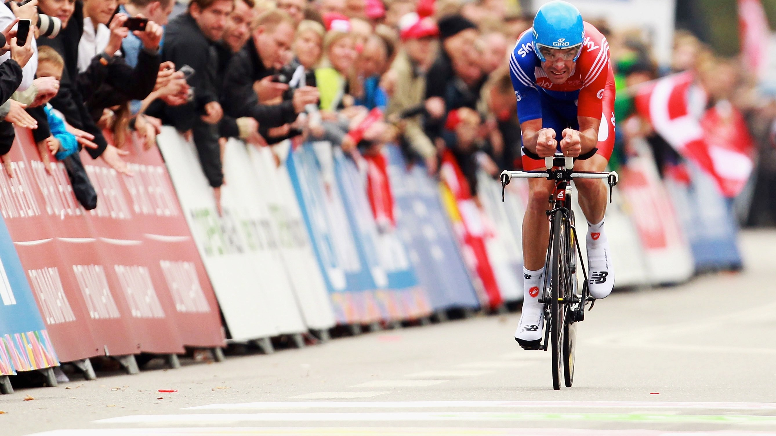 """""""You get more bang for your buck when going slower than when going faster,"""" says David Millar"""