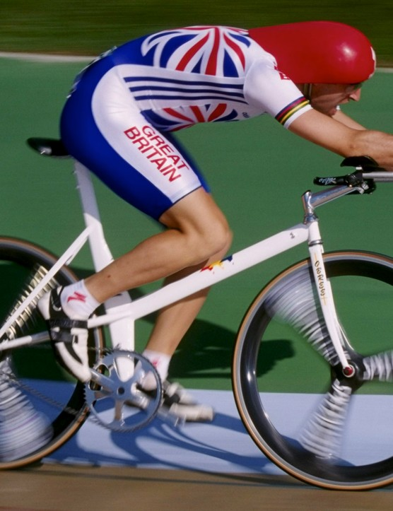 Graeme Obree, former Hour Record holder
