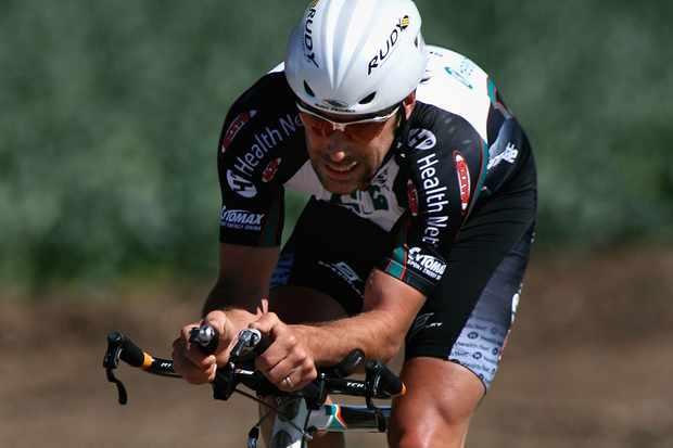 Health Net rider Tim Johnson