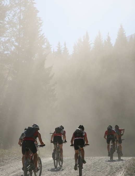Heat and dust have been a big part of the story of the 2007 TransRockies