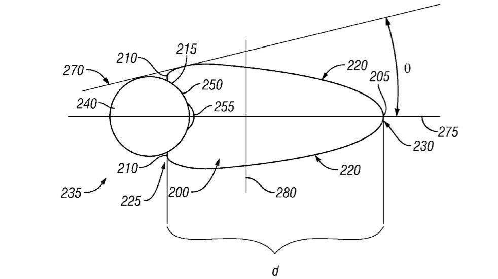Hed's patent deals with the width and shape of aero rims, relative to the size of the tire