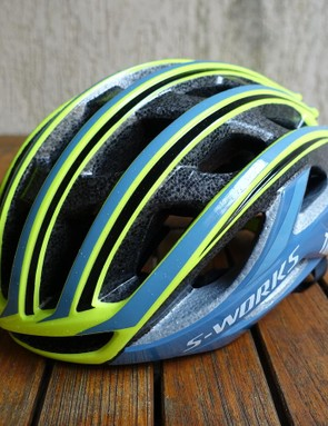 The new Prevail is very attractive in Tinkoff team colors