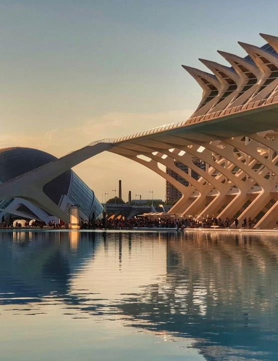 Hemispheric and Science Museum in Valencia