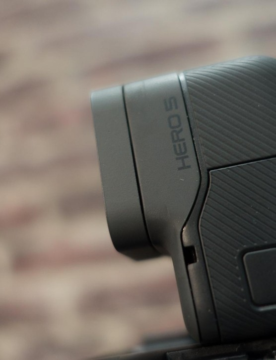 The Hero 5 Black is now a sleek, fully waterproofed unit without the need for a separate housing
