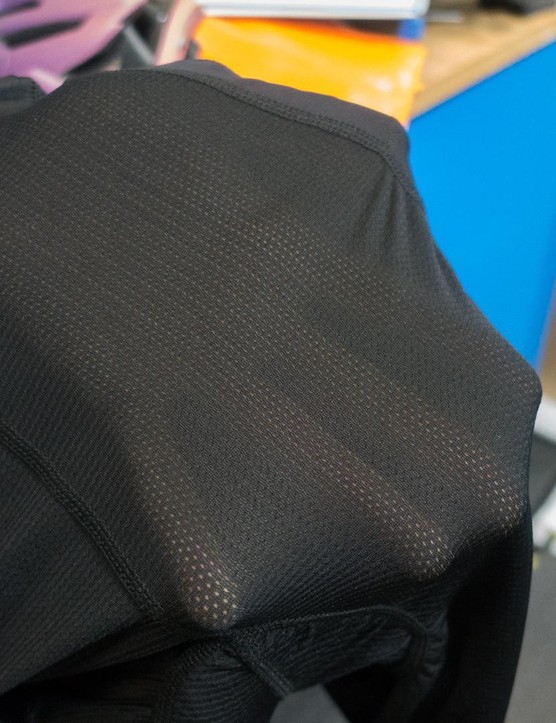 They're pretty see through, so definitely for wearing under bib shorts