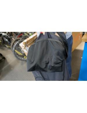 The bib shorts feature three rear pockets
