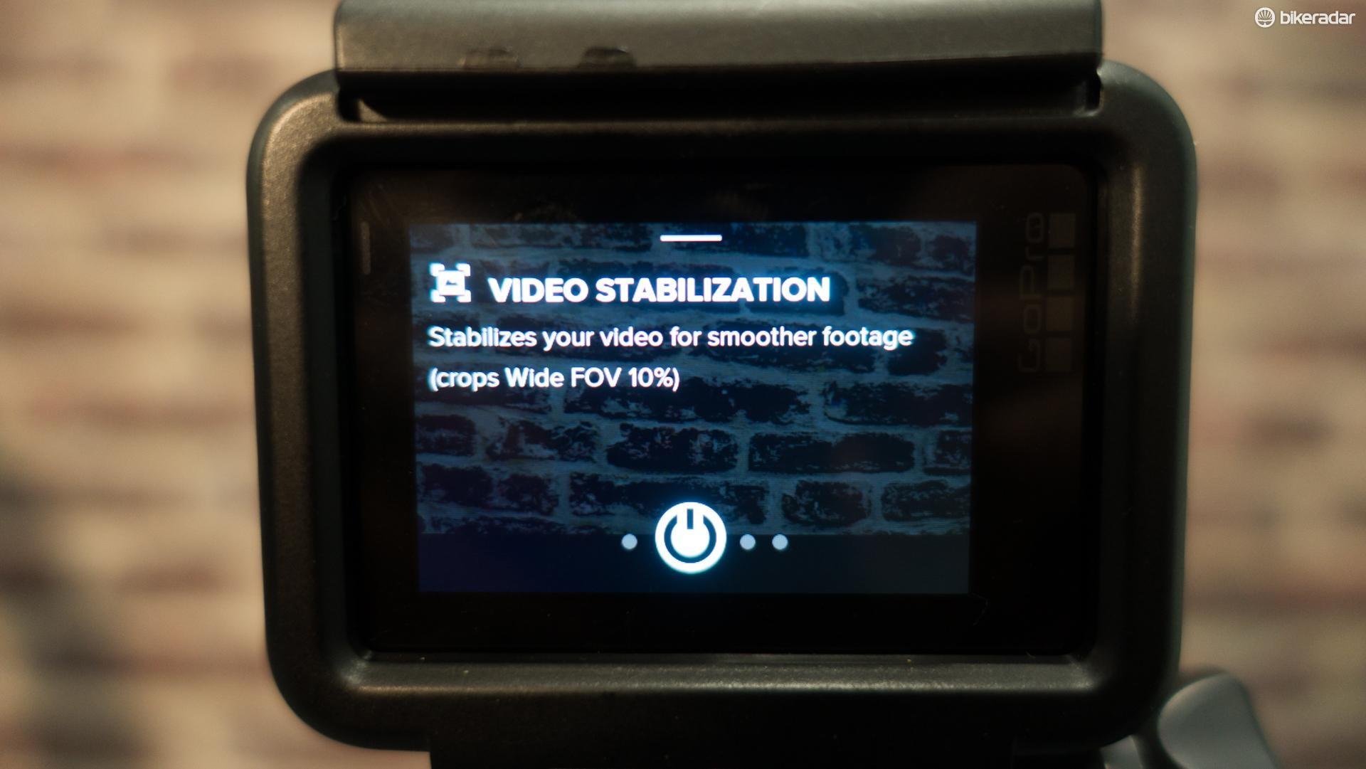It's got top-notch electronic image stabilisation