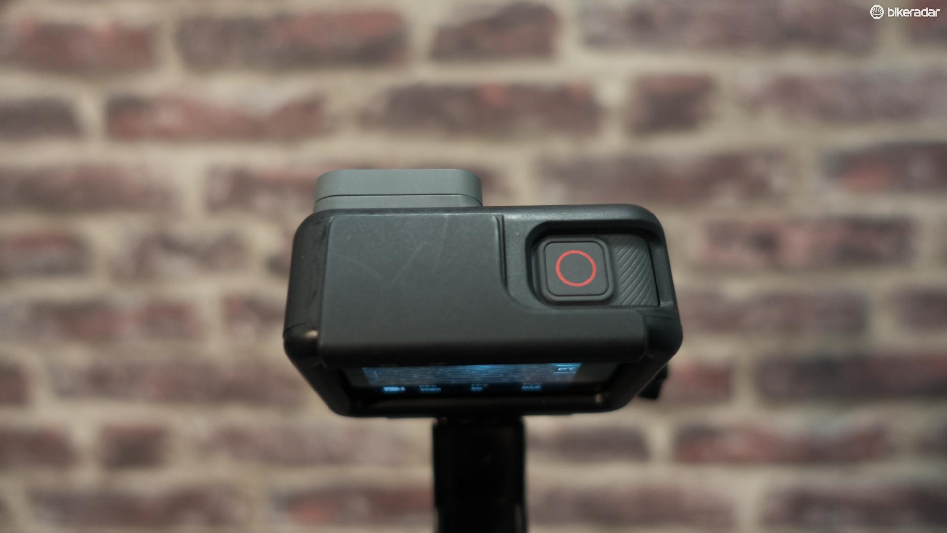 GoPro's Hero 5 Black has a simple on/off/record button on the top