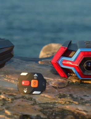 The Hexagon Light (left) dispenses with the turn signals