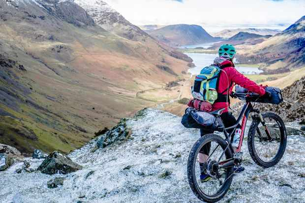 Load up and head out on an adventure. The Specialized Ruze 6Fattie Comp was our weapon of choice for a Lake District bothy biking adventure