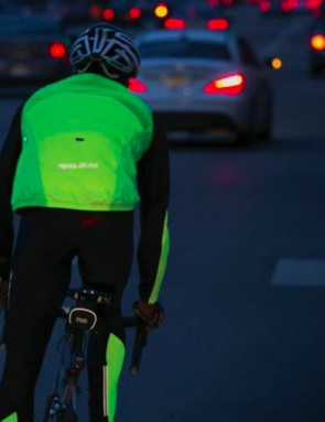 Staying visible on dark winter roads is an important safety consideration