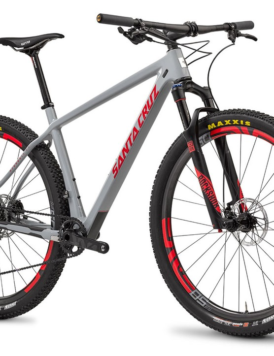 Santa Cruz's Highball 29er aluminum can swap between geared and singlespeed dropouts