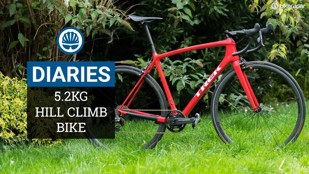 Episode 5 of BikeRadar's Hill Climb Diaries