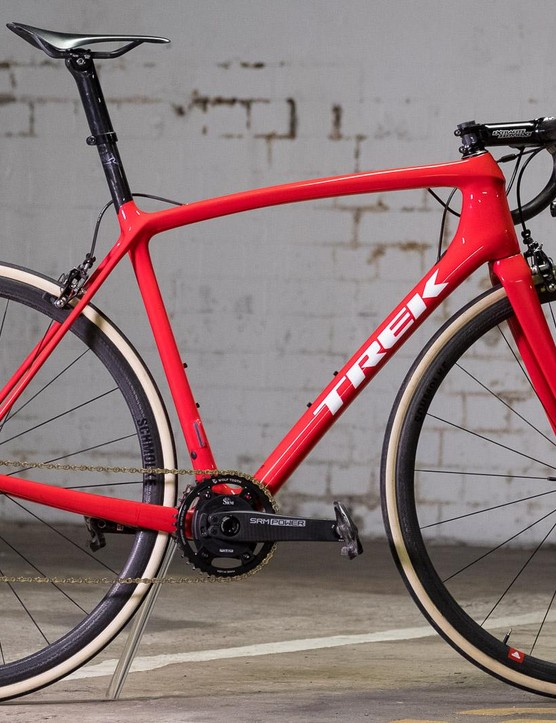 The 58cm Emonda frame weighs exactly 750g