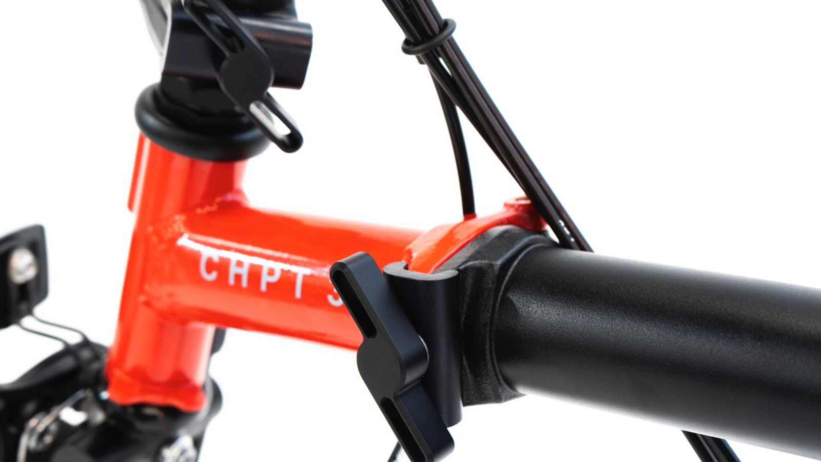 The X CHPT3 is the first Brompton to have machined hinges and seat clamps