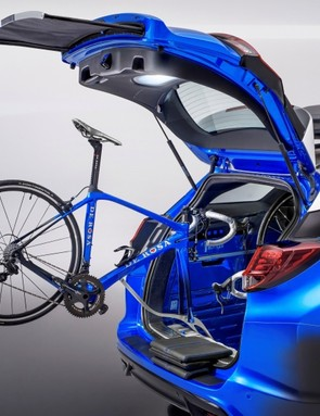 The Honda Civic Tourer Active Life concept will make its UK debut at this year's London Bike Show