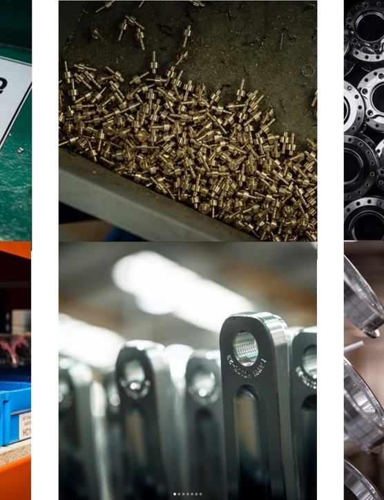 Hope produces a wide range of components and parts, manufacturing them in house in Barnoldswick, UK