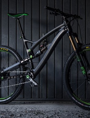 Guillaume Leon, Hope's head design engineer, wanted to make a bike that suited the tight, technical trails of his home town Briançon