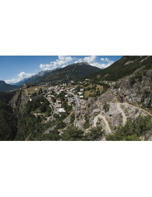 The trails around Briançon offer epic scenery, very little traction and some seriously tight corners