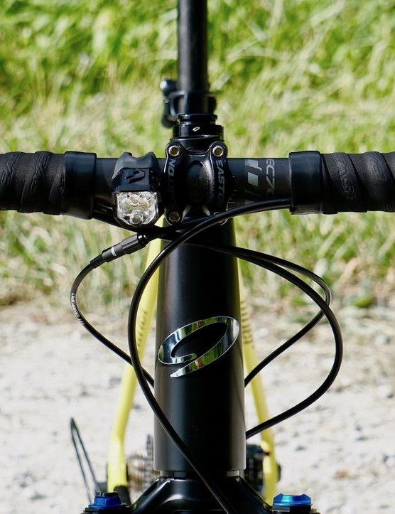 The Easton EC70 AX bars are super comfortable for long days in the saddle