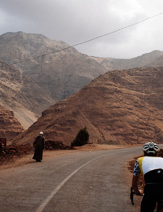 Day 1: Part of the Marrakech Atlas Etape route to Oukaimeden, the highest ski resort in North Africa