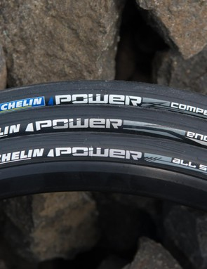 Michelin's new Power line of tires includes three tires for Europe and four for North America