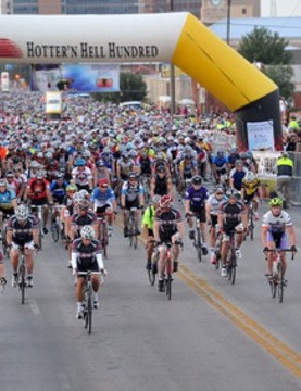 The Hotter'N Hell Hundred takes place in Texas, USA every August