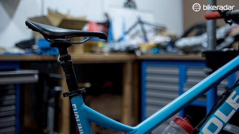 1. Set the angle for your type of bike: hardtail or full-sus?