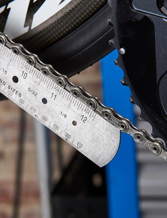 Check your chain for wear
