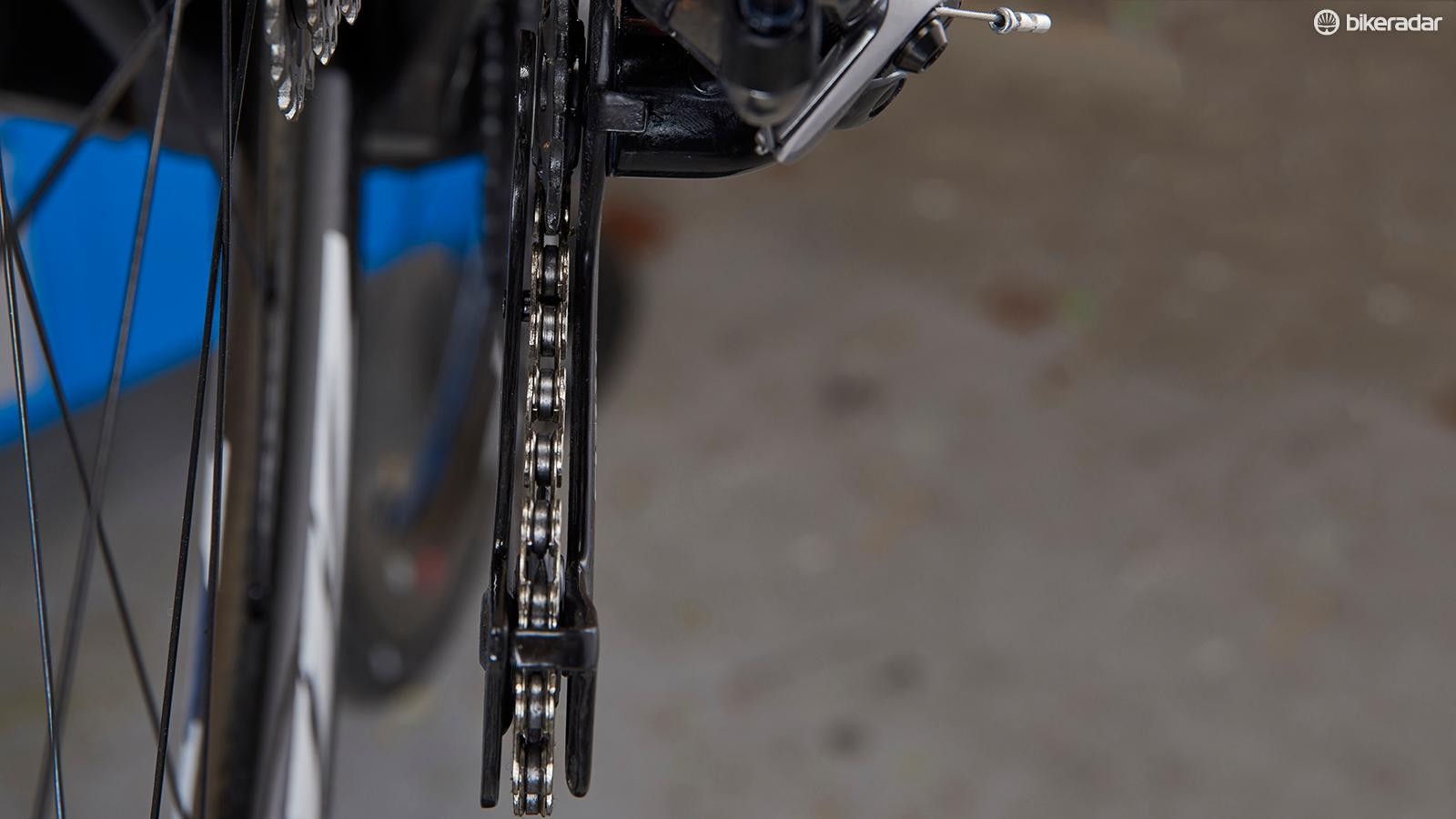 If your chain is making noises, check your rear mech hanger