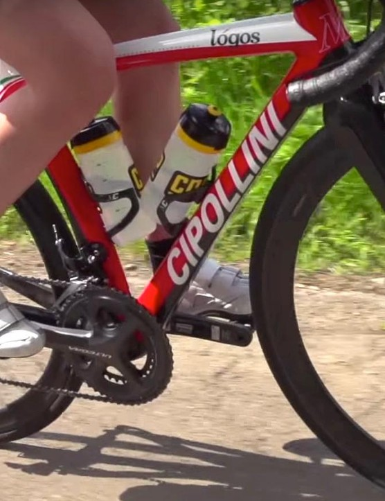 Keep your cranks horizontal in the three and nine o'clock positions