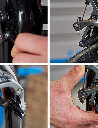 How to fit new rim brake pads