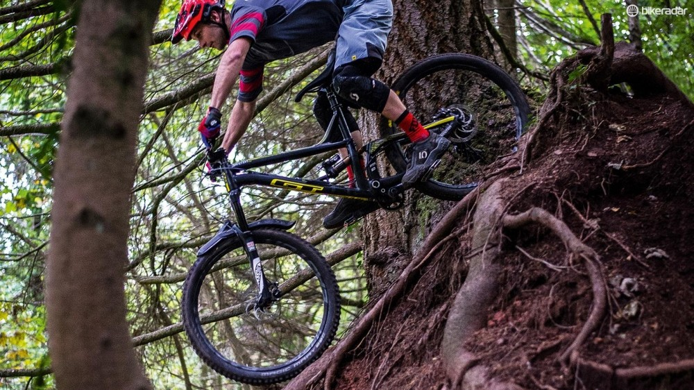 There's a good chance you'll encounter wet roots on the trails