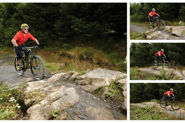 There's no avoiding them, so let's look at how to ride rocky sections